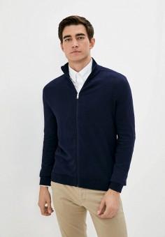 Кардиган, Selected Homme, цвет: синий. Артикул: SE392EMJPBV3. Одежда / Джемперы, свитеры и кардиганы / Кардиганы