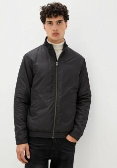 Куртка утепленная, Selected Homme, цвет: черный. Артикул: SE392EMJPBX0. Одежда / Верхняя одежда / Демисезонные куртки