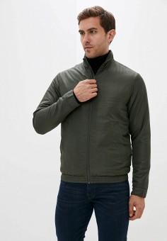 Куртка утепленная, Selected Homme, цвет: хаки. Артикул: SE392EMJPBX1. Одежда / Верхняя одежда / Демисезонные куртки