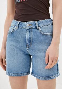 Шорты джинсовые, Selected Femme, цвет: синий. Артикул: SE781EWHJCQ6. Одежда / Шорты