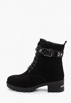 Ботильоны, Shoiberg, цвет: черный. Артикул: SH003AWFOLL5. Обувь / Ботильоны