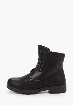 Ботинки, Shoiberg, цвет: черный. Артикул: SH003AWFOLM0. Обувь / Ботинки / Высокие ботинки