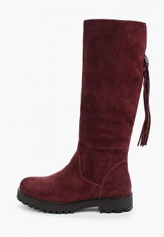 Сапоги, Shoiberg, цвет: бордовый. Артикул: SH003AWFOLM3. Обувь / Сапоги