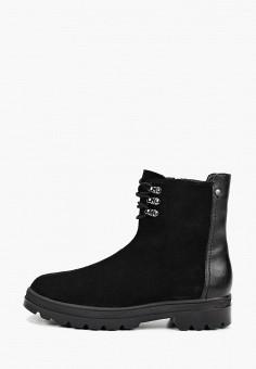 Полусапоги, Shoiberg, цвет: черный. Артикул: SH003AWFOLO7. Обувь / Сапоги / Полусапоги
