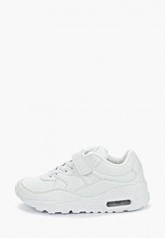 Кроссовки, Shuzzi, цвет: белый. Артикул: SH015AKEJMN0. Мальчикам / Обувь / Кроссовки и кеды
