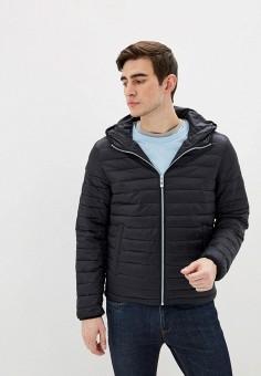 Куртка утепленная, Shine Original, цвет: черный. Артикул: SH020EMHDXD7. Одежда / Верхняя одежда / Демисезонные куртки