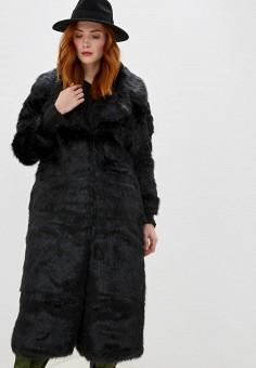 Шуба, SH, цвет: черный. Артикул: SH021EWGTFZ5. Одежда / Верхняя одежда / Шубы и дубленки