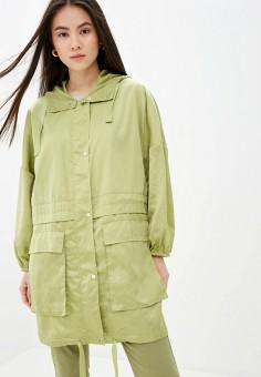 Парка, SH, цвет: зеленый. Артикул: SH021EWIYUX9. Одежда / Верхняя одежда / Парки