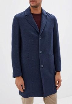 Пальто, Sisley, цвет: синий. Артикул: SI007EMFUGB5. Одежда / Верхняя одежда / Пальто