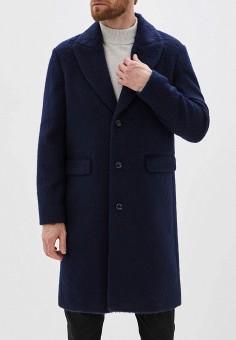 Пальто, Sisley, цвет: синий. Артикул: SI007EMFUKO4. Одежда / Верхняя одежда / Пальто