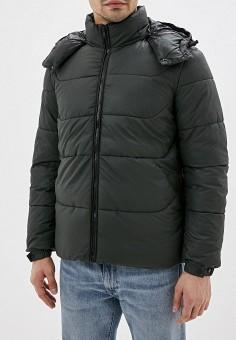 Куртка утепленная, Sisley, цвет: хаки. Артикул: SI007EMFUKO7. Одежда / Верхняя одежда / Пуховики и зимние куртки / Зимние куртки