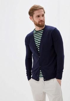Кардиган, Sisley, цвет: синий. Артикул: SI007EMHWLY3. Одежда / Джемперы, свитеры и кардиганы / Кардиганы