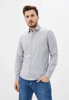 Рубашка, Sisley, цвет: серый. Артикул: SI007EMHWMB3. Одежда / Рубашки