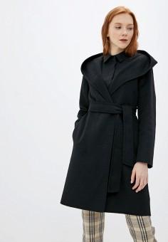 Пальто, Sisley, цвет: черный. Артикул: SI007EWFVDM2. Одежда / Верхняя одежда
