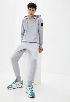 Костюм спортивный, Sitlly, цвет: серый. Артикул: SI029EMKAVG3. Одежда / Спортивные костюмы