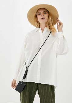 Туника, Silvian Heach, цвет: белый. Артикул: SI386EWIAHB9. Одежда / Туники