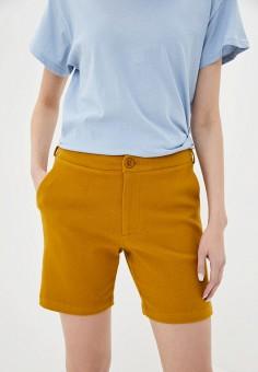 Шорты, Silvian Heach, цвет: желтый. Артикул: SI386EWIAIK5. Одежда / Шорты
