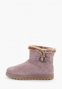 Полусапоги, Skechers, цвет: фиолетовый. Артикул: SK261AWHIEV0. Обувь / Сапоги / Угги и унты