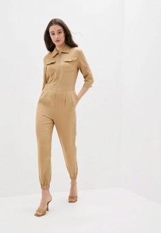 Комбинезон, Softy, цвет: бежевый. Артикул: SO017EWJINO1. Одежда / Комбинезоны