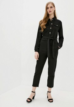 Комбинезон, Softy, цвет: черный. Артикул: SO017EWJINO4. Одежда / Комбинезоны