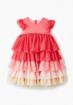 Платье, Sonia Rykiel, цвет: розовый. Артикул: SO021EGIYCS4. Девочкам / Одежда / Платья и сарафаны