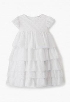 Платье, Sonia Rykiel, цвет: белый. Артикул: SO021EGIYCS5. Девочкам / Одежда / Платья и сарафаны