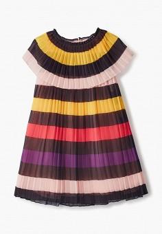 Платье, Sonia Rykiel, цвет: мультиколор. Артикул: SO021EGIYCS6. Девочкам / Одежда / Платья и сарафаны
