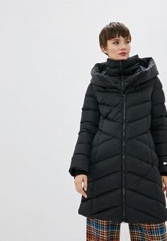 Пуховик, Soia & Kyo, цвет: черный. Артикул: SO036EWFYNA2. Одежда / Верхняя одежда / Пуховики и зимние куртки / Пуховики