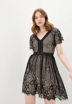 Платье, Soky & Soka, цвет: черный. Артикул: SO039EWJFGV6. Одежда / Платья и сарафаны / Вечерние платья
