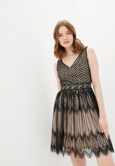 Платье, Soky & Soka, цвет: черный. Артикул: SO039EWJFGV7. Одежда / Платья и сарафаны / Вечерние платья
