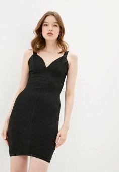 Платье, Soky & Soka, цвет: черный. Артикул: SO039EWXEB40. Одежда / Платья и сарафаны / Вечерние платья