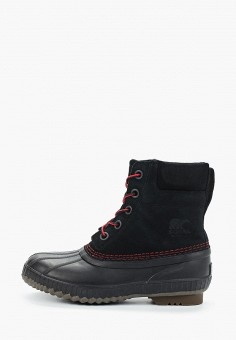 Ботинки, Sorel, цвет: черный. Артикул: SO490AKHEEW6. Мальчикам / Обувь / Ботинки