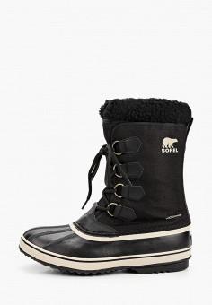 Дутики, Sorel, цвет: черный. Артикул: SO490AMHGCK2. Обувь / Сапоги  / Дутики и луноходы