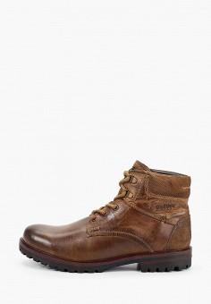Ботинки, s.Oliver, цвет: коричневый. Артикул: SO917AMGGNX5. Обувь / Ботинки / Высокие ботинки
