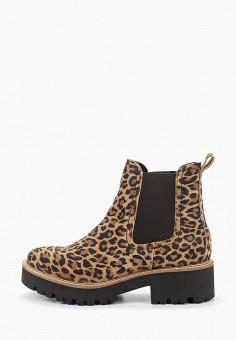 Ботинки, s.Oliver, цвет: мультиколор. Артикул: SO917AWHOLS5. Обувь / Ботинки / Челси