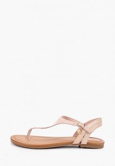 Сандалии, s.Oliver, цвет: розовый. Артикул: SO917AWIKZD5. Обувь / Сандалии