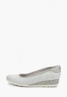 Туфли, s.Oliver, цвет: голубой. Артикул: SO917AWIKZD9. Обувь / Туфли