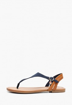 Сандалии, s.Oliver, цвет: синий. Артикул: SO917AWIKZT3. Обувь / Сандалии