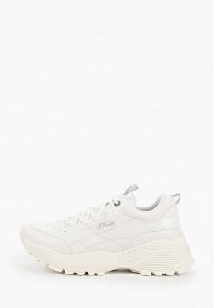 Кроссовки, s.Oliver, цвет: белый. Артикул: SO917AWKEFM9. Обувь / Кроссовки и кеды
