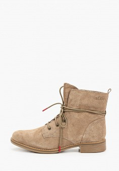 Ботинки, s.Oliver, цвет: бежевый. Артикул: SO917AWKEFN5. Обувь / Ботинки / Высокие ботинки