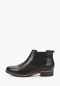 Ботинки, s.Oliver, цвет: черный. Артикул: SO917AWKEFN9. Обувь / Ботинки / Челси