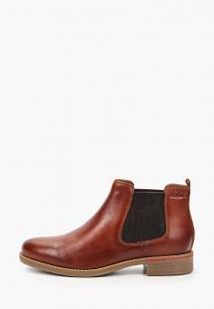 Ботинки, s.Oliver, цвет: коричневый. Артикул: SO917AWKEFO0. Обувь / Ботинки / Челси