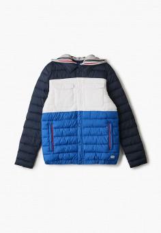 Куртка утепленная, s.Oliver, цвет: синий. Артикул: SO917EBHNVG0. Мальчикам / Одежда / Верхняя одежда / Куртки и пуховики