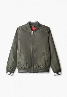 Куртка, s.Oliver, цвет: хаки. Артикул: SO917EBHNVG2. Мальчикам / Одежда / Верхняя одежда