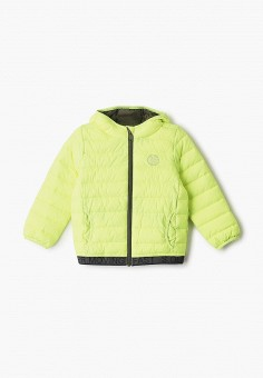 Куртка утепленная, s.Oliver, цвет: зеленый. Артикул: SO917EBHNVJ2. Мальчикам / Одежда / Верхняя одежда / Куртки и пуховики