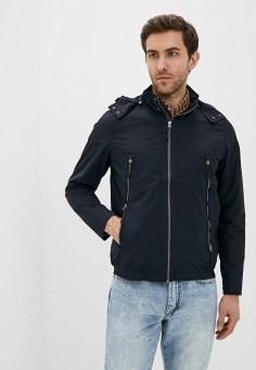 Куртка, s.Oliver, цвет: синий. Артикул: SO917EMHNVS3. Одежда / Верхняя одежда / Демисезонные куртки