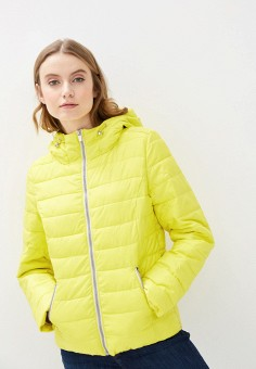 Куртка утепленная, s.Oliver, цвет: желтый. Артикул: SO917EWHNXZ6. Одежда / Верхняя одежда