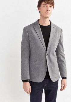 Пиджак, Springfield, цвет: серый. Артикул: SP014EMHVGS0.