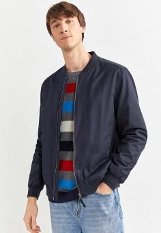 Куртка, Springfield, цвет: синий. Артикул: SP014EMHVGX7.