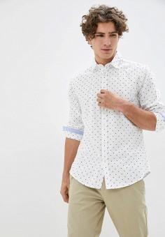Рубашка, Springfield, цвет: белый. Артикул: SP014EMHVHC1.